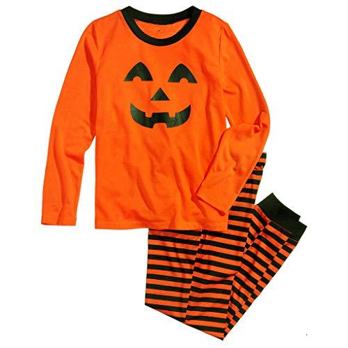 Kakiyi Erwachsene Jugendliche Baby Lächeln Gesicht Halloween Outfits Frühlings-Herbst-Haus-Kleidung eingestelltes