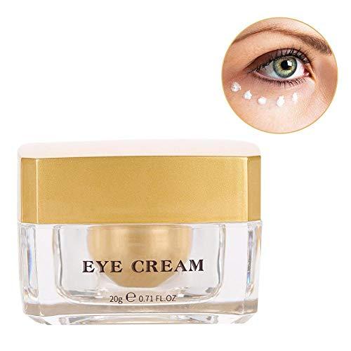 Antioxidative Augencreme (Anti-Aging-Creme Dark Circle Augencreme Gold Cream Straffende Augencreme zur Entfernung von Falten Black Eye und Extra Fat)