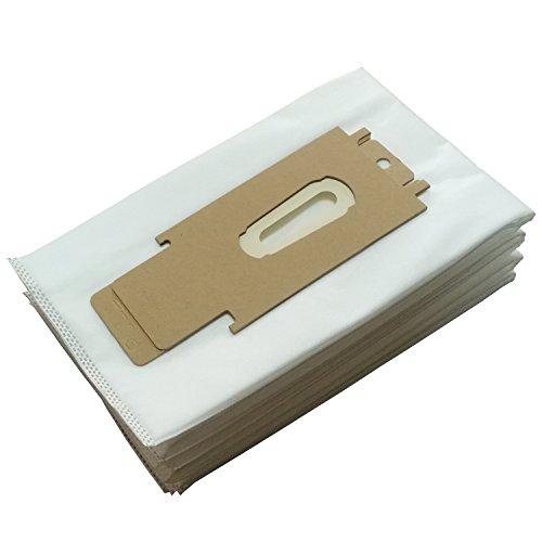 CF reinigen Fairy Staubsauger Bag Vakuum Staub Tasche Ersatz für Oreck Typ CC HEPA-Filter Tasche, für Stil 713& Type CC Handstaubsauger, weiß, 10 Bags - Hepa-staubsauger, Taschen