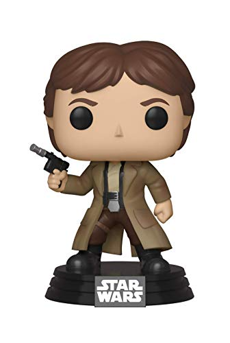 Funko- Pop Bobble: Star Wars: Endor Han Figura Coleccionable, (37534)