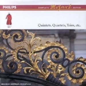 Intégrale Mozart, vol.6 -  Quintettes & quatuors pour instruments à cordes & instruments à vent / Quintettes, quatuors & trios pour piano
