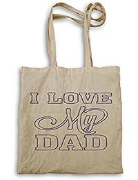 Amo a mi papá el día de padre bolso de mano g297r