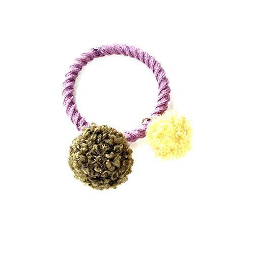 Cdrox Schöne Elastic 2 Ball Haarband Frauen-Mädchen-weiche Haar-Riegel-Ring-Band-Stirnband Headwrap Kopfbedeckung -