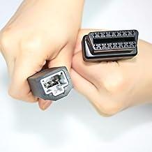 Honda 3pines a 16pines OBDII OBD2conector automático 3pines cable adaptador de coche para Honda
