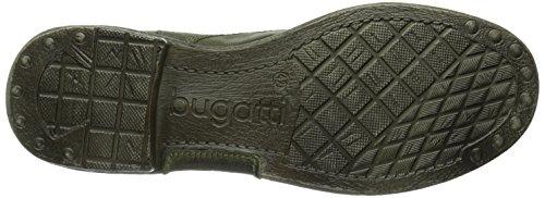 Bugatti F65511G Herren Biker Boots Grün (fichte 721)