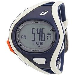 Asics CQAR0303 - Reloj digital de cuarzo unisex con correa de plástico, color multicolor