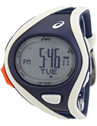 Asics Unisex Challenge CQAR0303 Grey Polyurethane Quartz Watch with Digital Dial