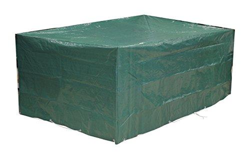 garten e tischgruppe Kronenburg Premium Schutzhülle 120 gr. Sitzgruppe Abdeckhaube 242 x 162 x 100 cm