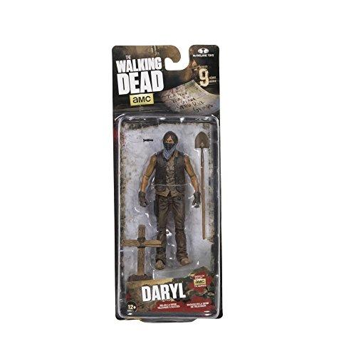 Image of Walking Dead DEC150707 McFarlane Toys TV Series 9 Grave Digger Daryl Dixon Action Figure