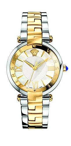 Versace VAI050016 - Reloj de Pulsera Mujer, Acero Inoxidable, Color Oro
