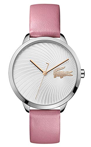 Lacoste Womens Analogue Classic Quartz Watch with Leather Strap 2001057