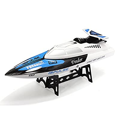 XT-XINTE Brand New High Quality WLToys WL912 New 2.4G Radio Control RC Speed Racing Boat Ready To Go Colors White