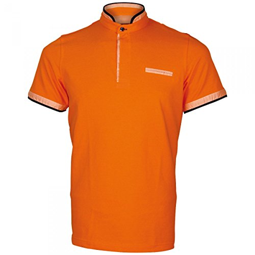 Inconnu Polo col Mao Tottenham Orange - Taille 2XL