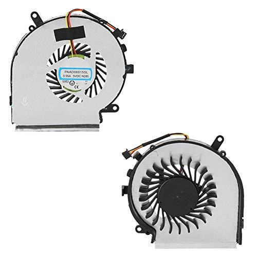 ASHATA CPU Lüfter, MSI GE62 Prozessor Lüfter Kühler Kühlung Fan,Laptop Kühlventilator CPU-Kühler Fan für MSI GE62 GL62 GE72 GL72 GP62 GP72 PE60 Serie PE70 Laptop Notebook Cpu