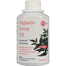 PINK SUN Aceite de Neem Puro Orgánico 250ml Virgen Prensado en Frío - Pure Neem Oil Cold Pressed