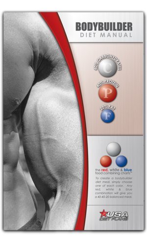 Bodybuilder Diet Manual by USA Diet Plans (2007) Paperback