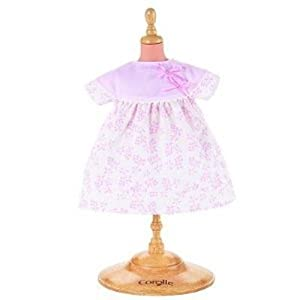 Corolle W0108 - Vestido de flores para muñecas de 42 cm, color rosa por Corolle