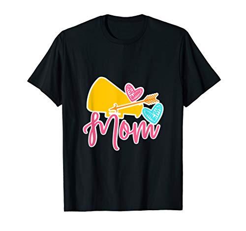 Cheerleader Mom - Cheerleading Costume Gift T-Shirt -
