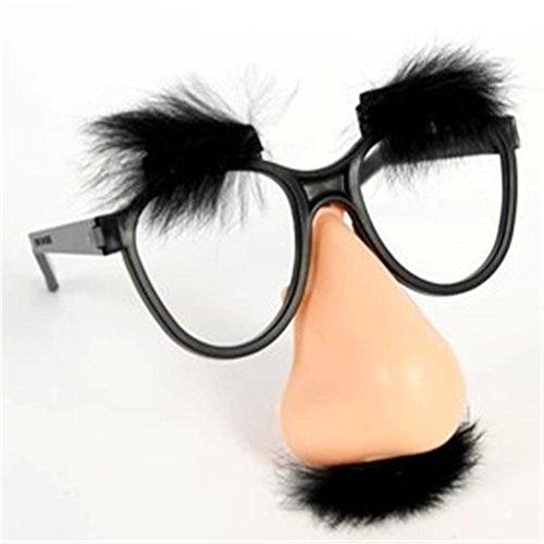 Halloween Fool 's Day Ganzes Gläser Spielzeug Lustige Lustige Brille Adult Entertainment Gläser , (Uk Ungewöhnlicher Schmuck Kostüm)