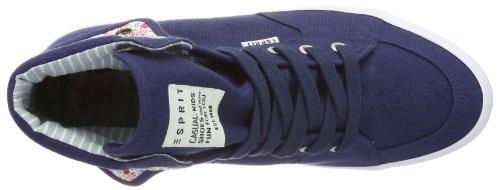 ESPRIT Conny Turn Up 024EKKW023 Unisex-Kinder Sneaker Blau (navy 415)