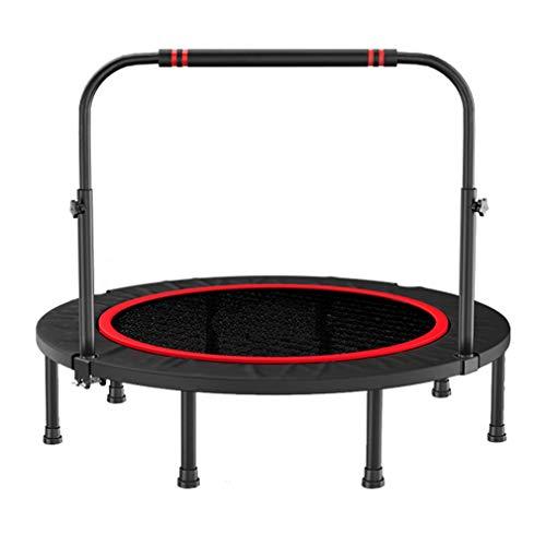 BFZJ Faltbar Trampoline 40 Zoll Outdoor/Indoor-Training for Erwachsene/Kinder,Fitness-Trampolin for Körperliches Training Oder Unterhaltung, Belastbarkeit 300 Kg (660 Lbs) (Color : B)