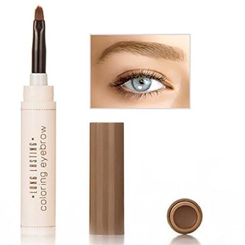 LHWY Femmes Waterproof Eye Brow colorant crème longue durée