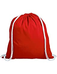 Vertrieb durch lehmann-promotion - Bolsa de cuerdas color rojo