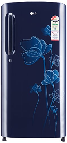 LG 190 L 3 Star Direct-Cool Single-Door Refrigerator (GL-B201AMHC, Marine...
