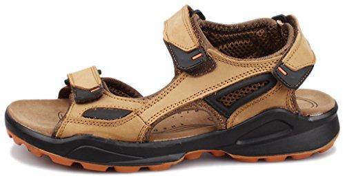 Fangsto  Sports Sandals,  Jungen Herren Knöchel-Riemchen Khaki