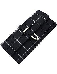 Mac Lawrence Fashion Girls Women's Wallet/Clutch/Purse (Black)