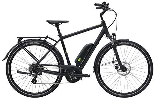 Herren E-Bike 28 Zoll - Pegasus Solero E8 - Bosch Active Line Plus Mittelmotor, Akku 400Wh, Shimano Schaltung, schwarz