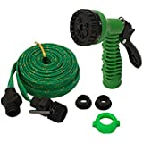 Spandal Expandable Hose Pipe Nozzle For Garden Wash Car Bike With Spray Gun And 7 Adjustable Modes