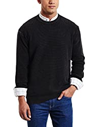 Pepe Jeans Mens Cotton Sweater (8907557026076_PIM0001948 4_X-Large_Black)