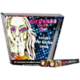 Nirvanaa White Luxury Pre Rolled Cone Rolling Paper/Smoking Paper (Pack Of 50)