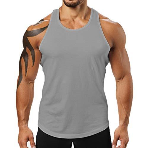 JiXuan Männer Weste Baumwolle Männer Fitness Tank Tops Fitness Camisetas Hip Hop Ärmelloses Shirt