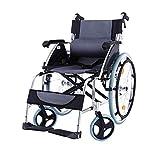 Leichter Transport Behinderter Älterer Menschen Rollstuhlantrieb Medizinische Ergonomische, Faltbare, Robuste Arme und Wegklappbare Beinstützen für Einfache Transfers, 18-Zoll-Sitz, Y-L