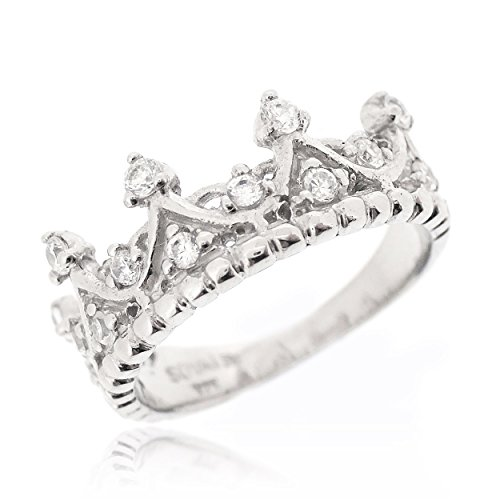 Sovats Damen Königin Kronen-Ring, Größe 54