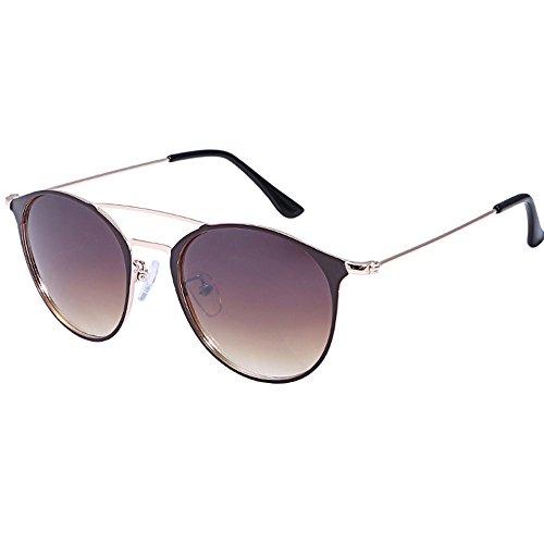 Daygeve occhiali da sole donna moderni fashion a specchio occhio di gatto lenti polarizzate uv400