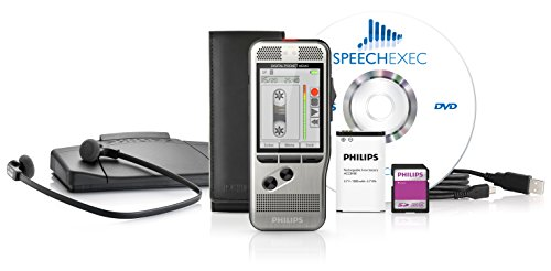 Philips DPM7700 Starter-Set (alte Version), bestehend aus Diktiergerät DPM7200 und Wiedergabe Set LFH7177