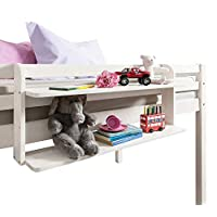 Yinitoo Multipurpose Double Shelf for Cabin Bed or Midsleeper