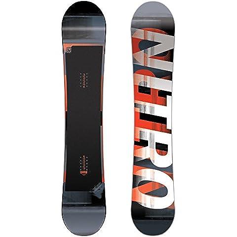 Nitro Snowboards–Team Wide Uomo, Uomo, Team Wide, nero,