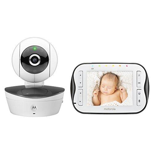 Motorola Babyphone Video mit Display Weiß 3,5