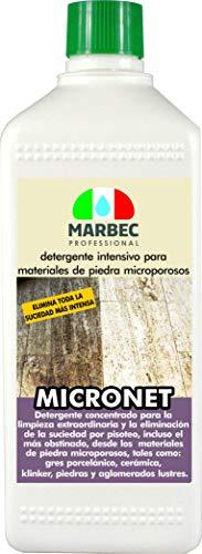 confronta il prezzo Marbec - MICRONET 1LT | Detergente intensivo per gres porcellanato e materiali lapidei microporosi miglior prezzo