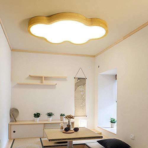 XXIONG Kinderzimmer führte Decken Holz Schlafzimmerlampe Leselampe