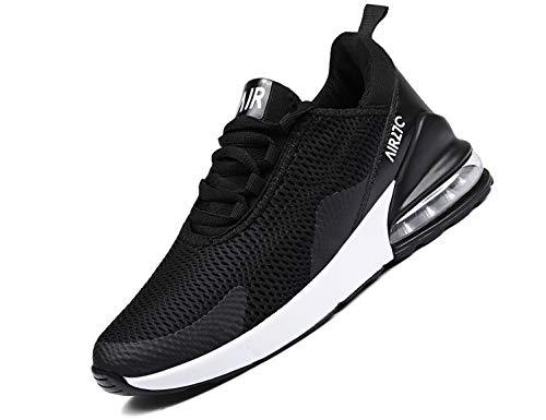 SINOES Sneaker Herren Laufschuhe Sportschuhe Atmungsaktiv Gemütlich Sportlich Luftkissenschuhe Freizeitschuhe Schnürschuhe Low-Top Schuhe