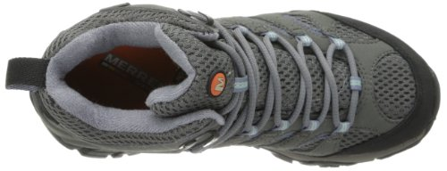 Merrell Moab Mid Gore-Tex Womens Grey/Periwinkle