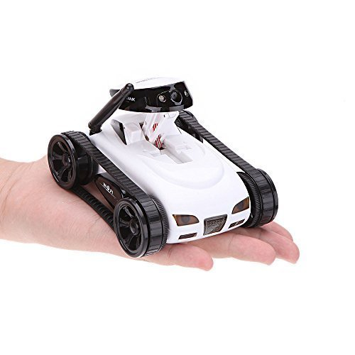 MakeTheOne WiFi Toy Tank Mini RC Toy Car Electronic with 0.3MP HD Camera 777-270 Remote Control, Incredibly Lightweight Toy Car Automatic for Android/iOS Phone