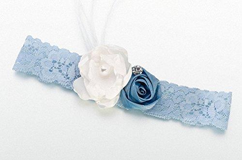 Vintage-Strumpfband-Blau. Tolle Hochzeit gefallen, Geburtstag Geschenke, Baby Dusche Geschenke, Weihnachts Strumpf Füllstoffe Und Mehr...