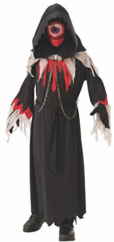 n Demon Kostüm, Groß Herren Kostüm Zyklop einäugiger Arges Gr. M-L schwarz griechische Mythologie Karneval (M) (Erwachsenen Cyclops Kostüme)