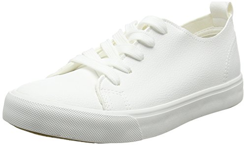 New Look Women's Moguel Trainers, White (White), 7 UK 40 EU